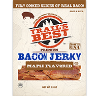 MAPLE FLAVORED BACON JERKY 2.5oz