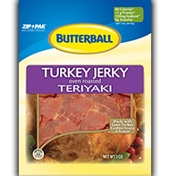 Butterball Teriyaki Turkey Jerky